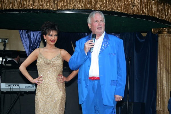 Wearing Dame Shirley Bassey's Dress With Christopher Biggins, Cafe De Paris, London