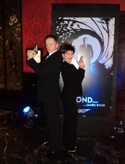 007 Event, With A Daniel Craig Lookalike At The Four Seasons, Park Lane