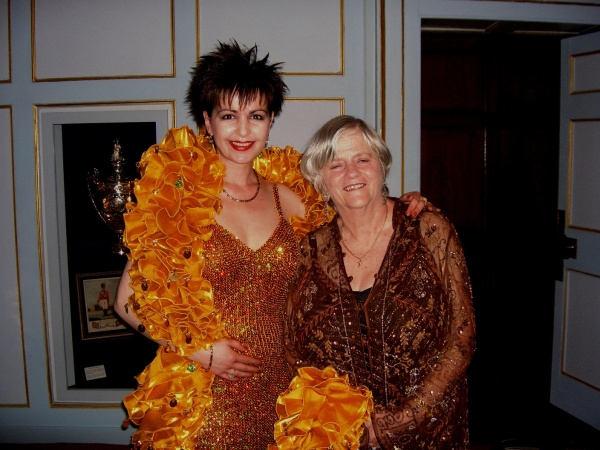 With Ann Widdecombe, London