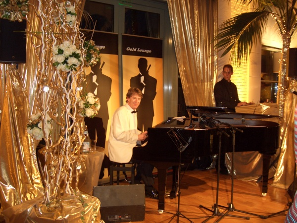 My Fabulous Band Leader And Pianist, Matt Stacey, 007 Event, Monte Carlo