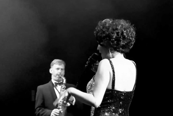 The Girl from Tiger Bay - The Dame Shirley Bassey Story. Live theatre shot, Birmingham.